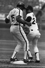 LG58-14 1990 BASEBALL Giants Phillies + Old Timers Game (100) 35MM B&W NEGATIVES