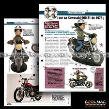 #jbt45.002 ★ KAWASAKI 900 Z1 1975 & MATT MABREL ★ Joe Bar Team / Fiche Moto
