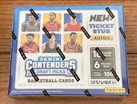 2020-21 Panini Contenders Draft Picks College Basketball Hobby Box Unopened