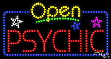"New ""Open Psychic"" 32x17 Solid/Animated Led Sign W/Custom Options 25561"