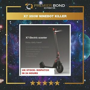 X7 350W NINEBOT KILLER (RRP £549)-Electric Scooter (REMOVABLE BATTERY)