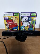 Xbox360 Kinect Bundle With Just Dance Used Working