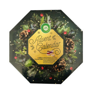 Airwick Advent Christmas Calendar with 24 x Scented Tealight Candles Collection
