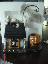YANKEE CANDLE HALLOWEEN 2105 BONEY BUNCH DOG GONE HANGING TART BURNER WARMER HTF