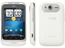 UNLOCKED WHITE HTC WILDFIRE S CELL PHONE TELUS ROGERS FIDO AT&T BELL CHATR KOODO
