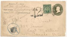 FRONT COVER PULUPANDAN PHILIPPINE ISLANDS USA TO CANADA. SCARCE. L1090