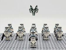 Star Wars Wolfpack Commander Wolffe Set 11 Minifigures Lot - USA SELLER