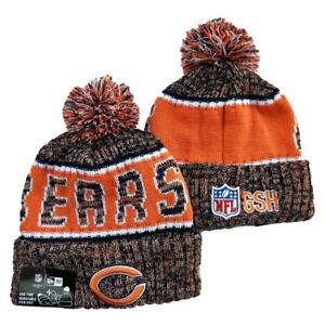 NEW Unisex NFL Chicago Bears lined Sport Knit Sideline Beanie Warm Hat