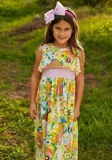 Matilda Jane Far out Maxi Dress Size 8 Brilliant Daydream / Yellow Floral