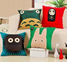 Studio Ghibli SPIRITED AWAY No Face Soot Sprite TOTORO 45cm Cushion Pillow Cover