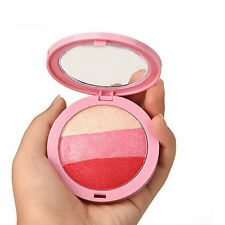 New 3-colour Baked Blush Powder  Face Makeup Cosmetic 4 Chioce