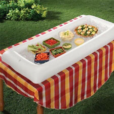 Inflatable Picnic Drink Table Serving Bar Salad Buffet Ice Cooler Party Camping
