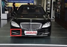 3PCS Passenger Side DRL Fog Light Cover for Mercedes Benz W221 S350 S500 2007-13