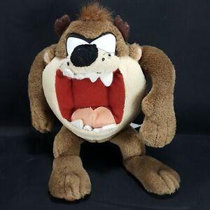 "Tazmanian Devil Taz Plush Stuffed Animal Looney Tunes Applause 10"" Open Mouth"