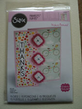 SIZZIX FRAMELITS STEPHANIE BARNARD CARD TRIPLE PLAYFUL FLIP-IT'S 15 DIES BNIP