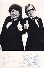 More details for syd little & eddie large autograph hand signed photograph original comedians tv