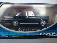 Solido 1:43 Simca Chambord presidence 1958 4570