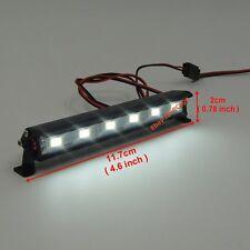 Alloy LED Light Bar 6V~7.4V JR Plug 6 lights For 1:10 RC Crawler Truck Buggy Car