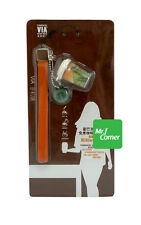 star225 starbucks VIA italian tumbler cell brown Phone Strap