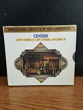 MFSL Gold Ultradisc ll-2 CD Box Set-Cream-Vol.1 & 2- Mint/Like New-played once