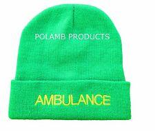 AMBULANCE Beanie / Woolly Hat (LGT GREEN) for PARAMEDIC Medic Emergency St John