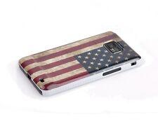 Funda protectora para Samsung Galaxy s2 i9100 estados unidos américa retro bandera case bolso cover