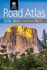 2018 Rand McNally Large Scale Road Atlas Rand McNally Large Scale Road Atlas U.