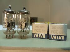 MATCHED PAIR 1960's Amperex Holland Valvo pcc88 (6dj8 6922) δ Tube Tube New 5