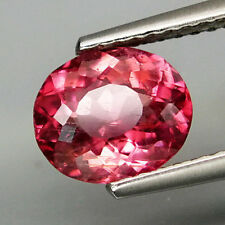 1.45Cts Beautiful Color&Full Sparkling! Natural PINK TOURMALINE (Rubellite) B197