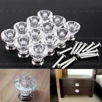 12pcs 25mm Diamond Shape Cabinet Knob Drawer Cupboard Pull Handle
