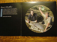 OCEANS DEADLIEST EMMY DVD STEVE IRWIN LAST FILM Discovery ch Philippe Cousteau