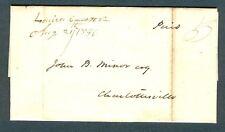 """Louisa Court H Va. Aug 21st 1846"" wrapper from Philip H. Jones to John Minor"