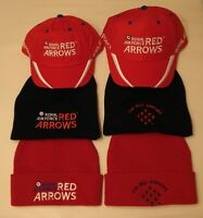 ROYAL AIR FORCE RED ARROWS CAP & SKI HAT - CHOICE OF 6 - OFFICIAL MERCHANDISE