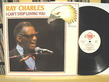 """★★ 12"""" LP - RAY CHARLES - I Can´t Stop Loving You - Platinum PLP 22 GER"""