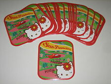 25 HELLO KITTY LOMBARD ST. SAN FRANCISCO STICKERS SCRAPBOOKING LICENSED NEW!!