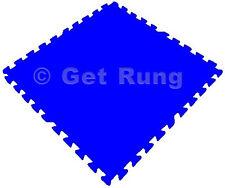 24 sq ft blue interlocking foam floor puzzle tiles mats