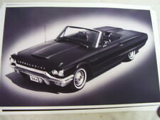 1963  FORD THUNDERBIRD CONVERTIBLE    11 X 17  PHOTO  PICTURE