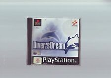 DIVER'S DREAM - SONY PLAYSTATION PS1 GAME / PS2 PS3 COMPATIBLE ORIGINAL COMPLETE