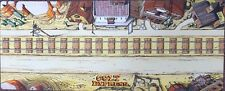 Colt Express board game playmat - Promo Train Track Mat - Mouse Pad Material