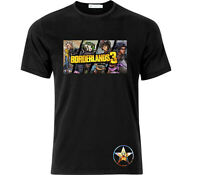 Borderlands 3 Vault Hunters Gaming T Shirt Black