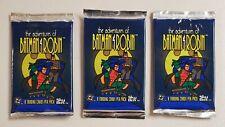 Adventures of Batman & Robin Skybox Lot of 3 (Three) Unopened Sealed Foil Packs