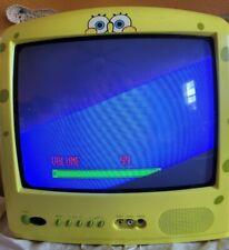 "Spongebob Squarepants 13"" TV Emerson CRT | Free & Same Day Shipping!!!"