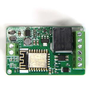 DC 7-30V ESP8266 WIFI Relay Module ESP-12F Network Relay Module 220V 10A