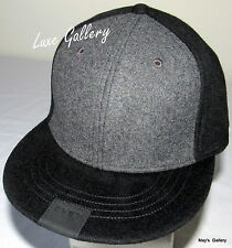 DKNY Donna Karan New York BaseBall Cap Ball Hat Military NWT One Size Wool Black