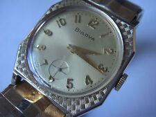 Vintage Art Deco*Bulova Swiss*Handaufzug*17 Steine*10 K rolled Gold*einwandfrei