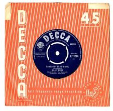 "BILLY FURY.SOMEBODY ELSE'S GIRL / GO AHEAD AND ASK HER.UK ORIG 7"".EX"