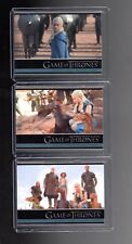 Game of Thrones season 3  P1,P2 and P4 promo cards