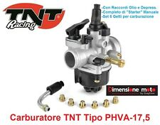 1010 - carburatore TNT tipo Phva-17 5 6 getti Starter per Malaguti F12 50