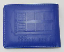 Tardis Novelty Embossed Wallet. Dr Who Police Box Time Machine FREE POSTAGE