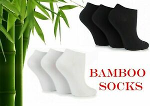 12 Pair Pack Ladies/gents  Breathable Bamboo Ankle Trainer Socks Shoe Liners